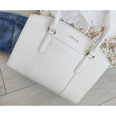Furla kabelka biela satchel