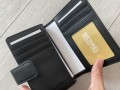 Michael Kors peňaženka malá čierna s monogramom
