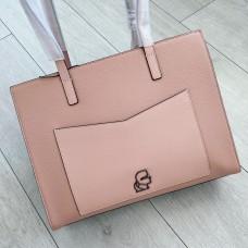 Karl Lagerfeld kabelka tote ružová