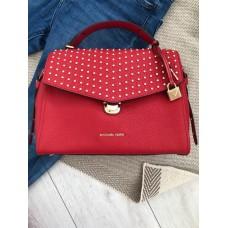 Michael Kors satchel kabelka Bristol červená