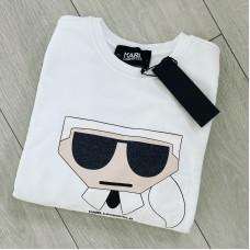Karl Lagerfeld mikina biela