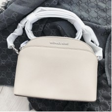 Michael Kors dome crossbody šedá